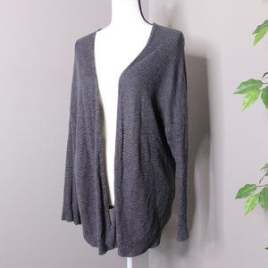 American Eagle Open Front Oversized Cardigan